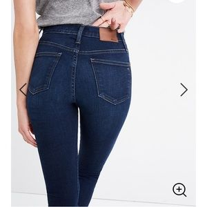 """Madewell 10"""" High Rise Jeans"""